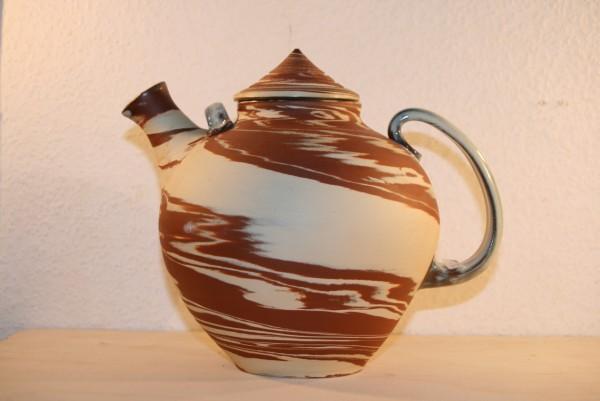 Teekanne, zweifarbig