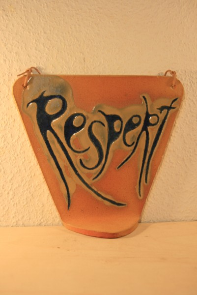 Affirmationsspiegel - Respekt